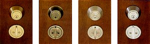 Click image for more Deadbolts